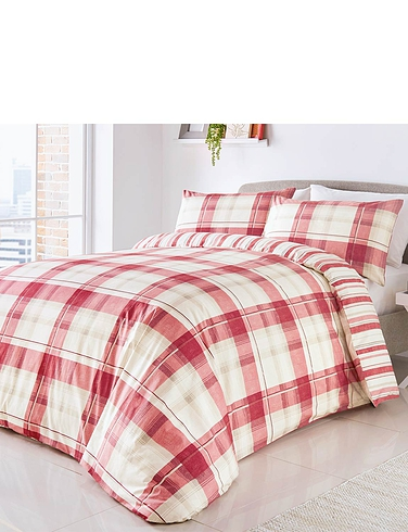 Balmoral Check Quilt Cover Set