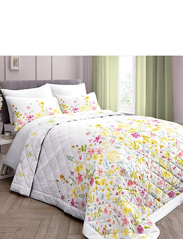 Aimee Quilted Bedspread - MULTI