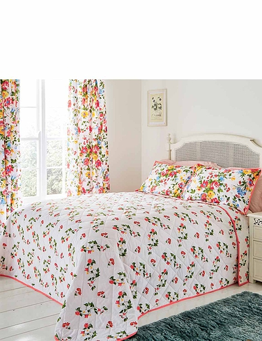 Mia Quilted Bedspread by Belledorm
