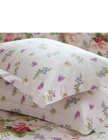 Delphine Oxford Pillowcase Pair by Belledorm - MULTI
