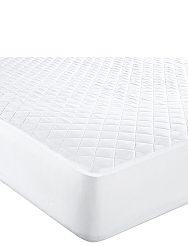Anti Bacterial Mattress Protector by Downland
