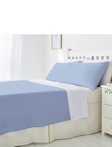 Plain Poly Cotton Flat Sheet