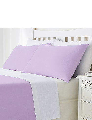 Plain Poly Cotton Bedlinen Pillowcases