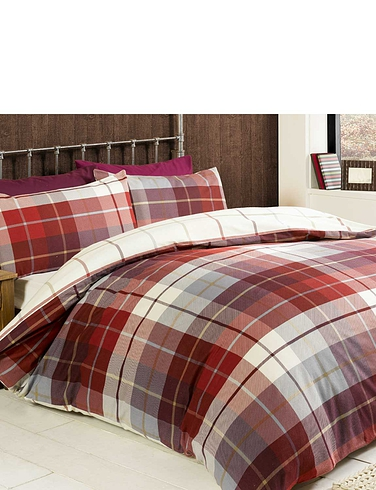 Lomond Flannelette Quilt Cover Set
