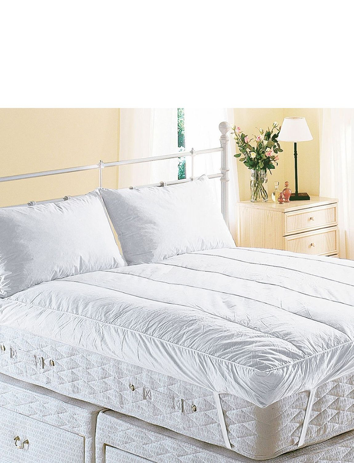 Snuggledown Extra Deep Luxury Feather Bed Mattress Topper