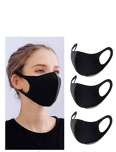 Set of 3 Reusable Face Masks